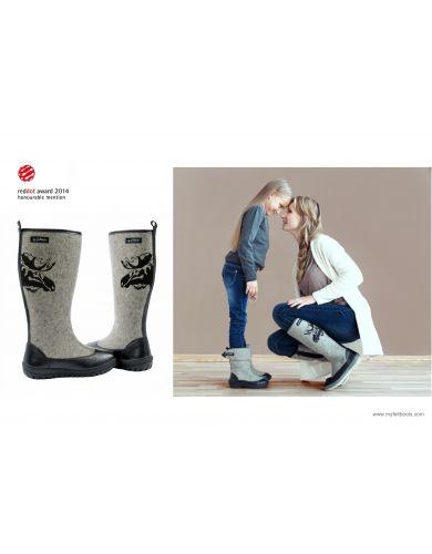 wool boots, valenki boots, felt boot, snow boot woman, woman winter boot, felt shoes