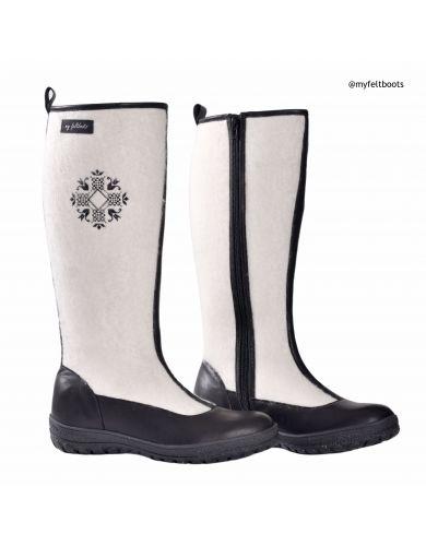 winter wedding boots, snow boots, warm boots women, wool boots, winter footwear, valenki