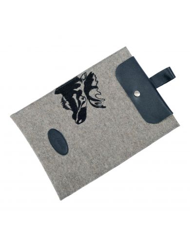 Felt sleeve for tablet PC