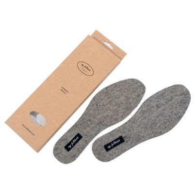 Felt insoles for adults