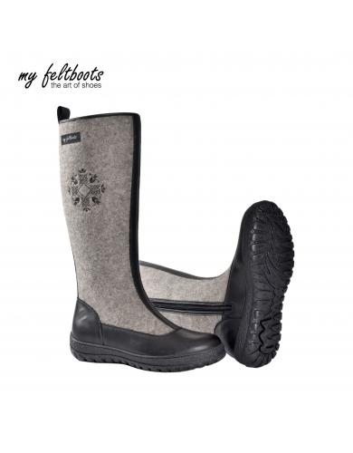wool boots, women boots, filz schuhe, snow boots, filz stiefel, valenki, tall boots