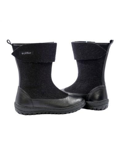 felt boots, winter ankle boots, snow boots, booties, felt shoes, women boots, filz schuhe