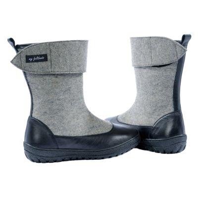 felted shoes, felt boots, winter boots, unisex felt boots, women mid calf boots