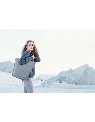 wool bag, felt handbag, lightweight tote bag, women tote bag, my felt boots