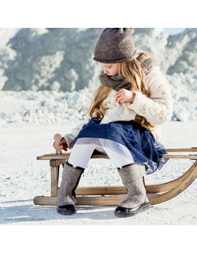children felt boots, kids boots online, kids wool boot, snowshoes, felt shoes
