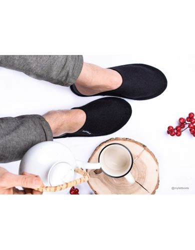felt slippers, wool slippers, filzpantoffeln, wool clogs, mens wool slippers