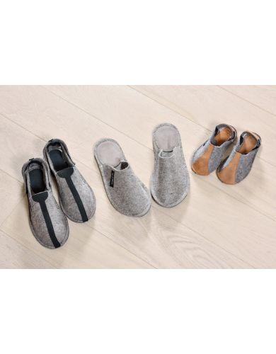 обувь из войлока ребёнку, войлочные тапки, домашние тапочки