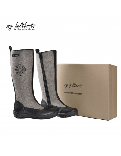 tall women boots, snow boots, winter boots, felt shoes, filz stiefel, my feltboots, winter footwear