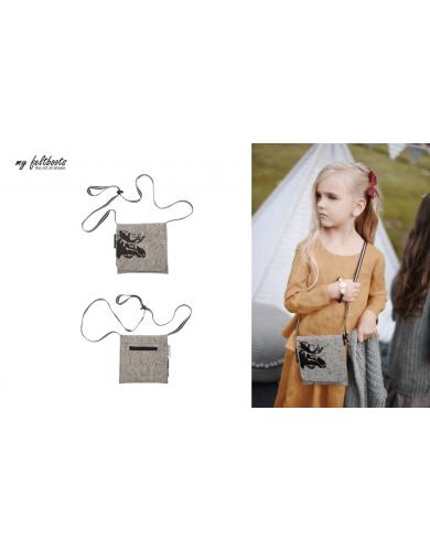 crossbody bag, felt bag kids, felt purse