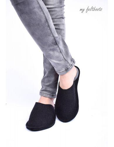 wool slippers, wool clogs, felt slippers, my felt boots