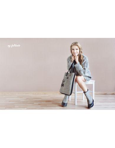 snow boots for women, wool boots, felt boots, filz stiefel