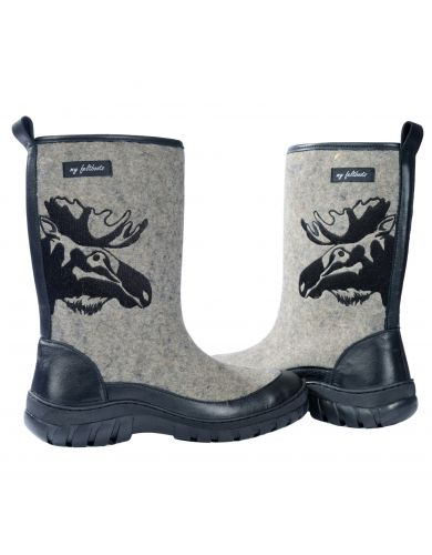 gray felted boots, valenki, my feltboots, boots for men, snow boots men, men winter boots